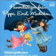 CD Astrid Lindgren svedese, Pippi, Emil, madicken, favoritsånger från