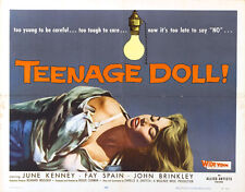 "Teenage Doll Lobby Card Movie Poster Replica 14 x 11"" Photo Print"