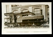 Railway GWR? steam loco engine 17 Cyclops crane at Swindon RP PPC