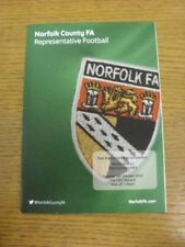 14/10/2014 Norfolk U18 v Bedfordshire U18 [East Anglian Counties Competition] .