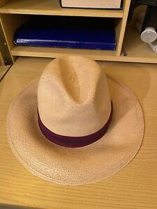 Vendo Cappello Borsalino da Uomo Stile Panama Made In Ecuador