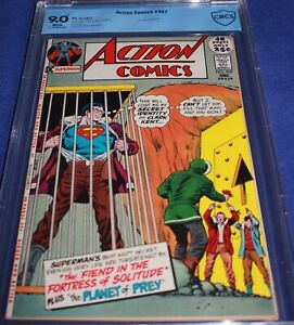 ACTION #407 CBCS/CGC 9.0 WHITE! PGS. 48 PG GIANT! CHECK MARK! MEANS LOOKS BETTER