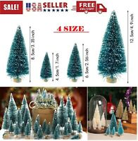 5 PACK Christmas Mini Tree Artificial Green Pine Cedar Home Table Xmas Decor USA