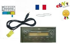 Cable auxiliaire 6pin MP3 iphone ipod sur autoradio FIAT BLAUPUNKT MP3 + 2 clés