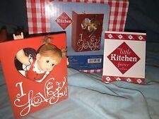 "My Little Kitchen Fairies ""I Love You Fairie"" 2011 Nib Valentines Day Rare"