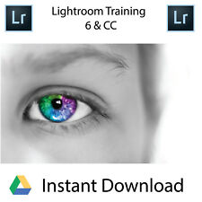 Lightroom 6 & CC- Professional Training Videos - Instant Download