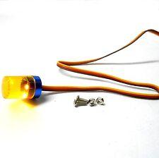 l-043y 1/10 Escala Auto De Carreras/Camión Chasis Sencillo amarillo alarma