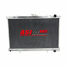 3 Row Radiator For Skyline R32 GTST RB20DET R32 GTR RB26DETT MT Aluminum