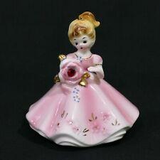 Rare Vintage Josef Originals California Doll of the Month January Birthday Stone