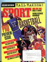 Sport Magazine November 1995 Basketball NBA Preview EX 042116jhe