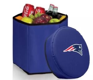 New England Patriots NFL Bongo Insulated Collapsible Cooler NEW
