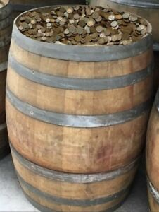 BAGS OF WHEAT PENNIES FROM OLD KENTUCKY WHISKEY BARREL HOARD - ESTATE FIND!