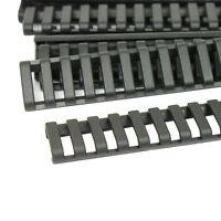 8 Pack Heat Resistant Rifle Ladder Rail Cover Weaver Picatinny Handguard - Black