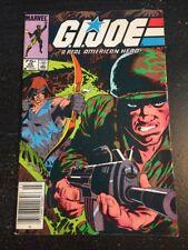 Gi-joe#45 Awesome Condition 7.0(1986) Zeck Cover, Ripcord Vs Zartan!!