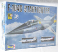 Revell F-104G Starfighter 1:48 Scale Plastic Airplane Model Plane Kit 85-5324