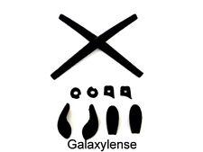 Galaxy Earsocks Nose Pads Rubber Kits Oakley Juliet,Penny,Romeo 1.0,Mars Black