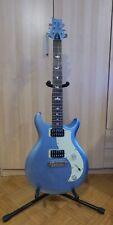 PRS SE Mira Frost Blue Metallic E-Gitarre inkl. Tasche und Saiten