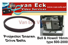 Bell & Howell 16mm film projectors (type 500 - 2000) motor beltFlat beltNew