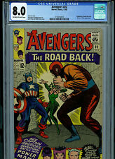 Avengers #22 CGC 8.0 VF Marvel Comics 1965 Kirby Heck Lee Amricons B4