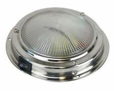 LED CABIN LIGHT 140MM BASE STAINLESS  STEEL Caraven