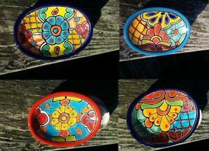 Talavera Soap Dish Mexican Hand Painted Ceramic Kitchen Bathroom 5.5x4x1