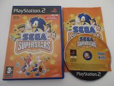 SEGA SUPERSTARS - SONY PLAYSTATION 2 - Jeu PS2 PAL Fr COMPLET