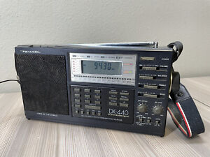 Realistic DX-440 AM/FM Direct Entry Communications Receiver  Working