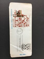 US 84 Olympics Aerogramme First Day Cover Unaddressed