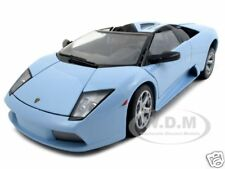 LAMBORGHINI MURCIELAGO ROADSTER BABY BLUE 1:18 MODEL CAR BY BBURAGO 12070