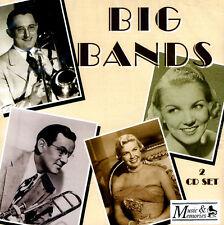 Big Bands 2CD NEW 43 VINTAGE HIT RECORDINGS * SWING * DORSEY,BASIE,ELLINGTON +