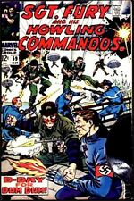 SGT FURY 59 F SERGEANT & HIS HOWLING COMMANDOS 1963 MARVEL NICK AGENT OF SHIELD