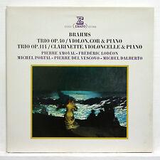 BRAHMS trios op.40 & op.114 DALBERTO, AMOYAL, LODEON, PORTAL, DEL VESCOVO erato