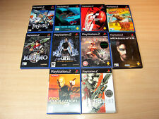 PS2 / Playstation 2 - 10 Action Games/Metal Gear Solid 2/God Of War/Maximo