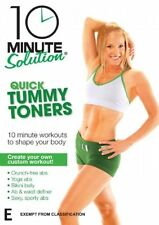 10 Minute Solution - Quick Tummy Toners (DVD, 2008)