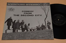 COMEDY FROM THE SECOND CITY LP TOP JAZZ 1°ST MERCURY OCS 6201 CARTONATO LAMINATO
