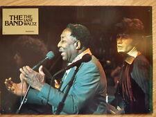 THE BAND - LAST WALTZ German lobby card #15  Bob Dylan - MUDDY WATERS  SCORSESE