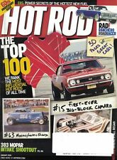 Hot Rod Magazine Jan 2008 Top 100 The Most Influential HOT RODS of All Time
