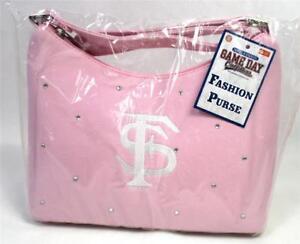 Pink Florida State Mini Saddle Ladies Women's Fashion Purse Handbag NCAA A-15