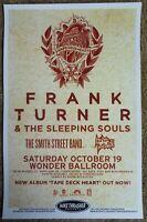 FRANK TURNER 2013 Gig POSTER Portland Oregon Concert