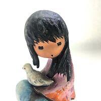 1983 The White Dove Children of DeGrazia Goebel Figurine 10 314 A.o.W. Vintage