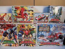 Power Rangers Kaizoku Sentai Gokaiger Megazord ALL 7Set BANDAI Rare!