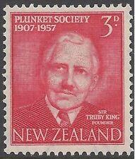 New Zealand 1957 PLUNKET SOCIETY Unhinged Mint SG760