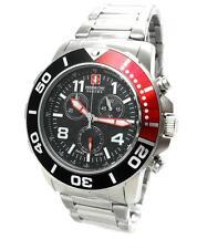 Swiss Military Hanowa 06-5262.04.007.04 checkerboard señores reloj Chrono acero inoxidable