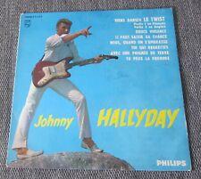 "Johnny HALLYDAY *Viens danser le twist* / PHILIPS 10"" 25cm France 76534"
