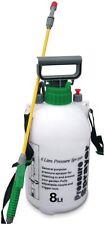 8 Litre Weedkiller Garden Knapsack Chemical Pressure Sprayer 8L