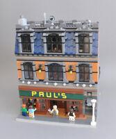 Modular Tailor Bauanleitung für LEGO (passt zu 10197 10211 10224 10218 10182)