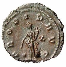 """Gallienus AE Antoninianus """"Providentia, X"""" Rome 10th Officina RIC 267 EF"""