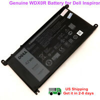 Genuine WDX0R Battery for Dell Inspiron 15 5567 5568 5378 13 7368 7460 T2JX4