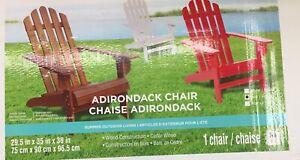 Ash Red Cedar Wood Adirondack Chair Furniture