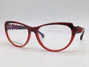 La Matta Lm 3192 2 Red Glitter Cordel Mediterranean High End 55-16 Medium + Case
